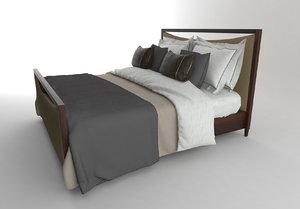 3d model luxury bed