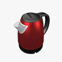 electric kettle 3d model