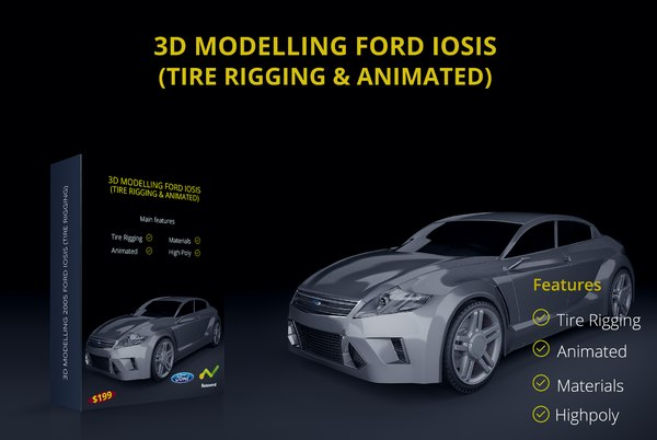 3d max iosis 2005 concept tire