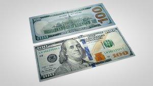 c4d 100 dollars