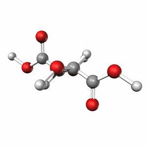 tararic acid 3d model
