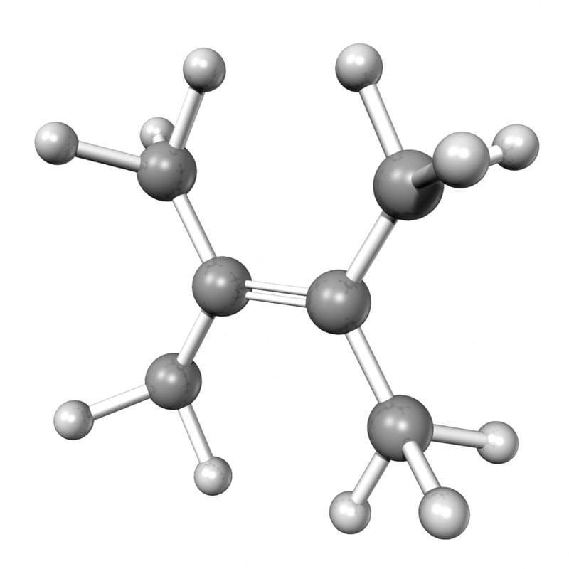 tetramethyl ethylene 3d obj