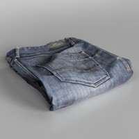 Jeans Blue Folded