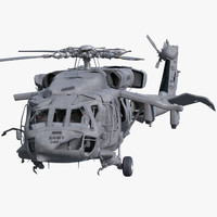 Wreck UH-60 Black Hawk Rigged
