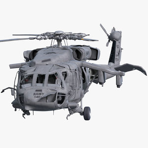 3d wreck uh-60 black hawk model