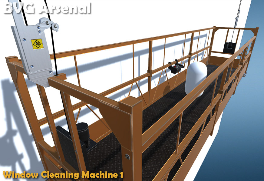 window cleaning machine 3d x