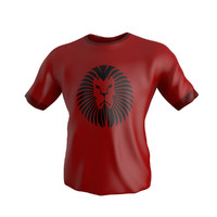 3d model t shirt v2 modeled