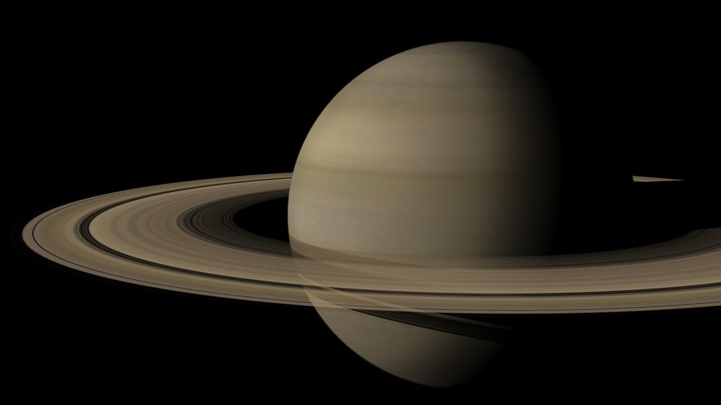 planete saturne v2 3d lwo