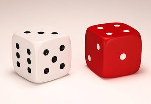 max dices white red