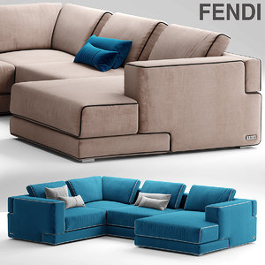 sofa sloane fendi max