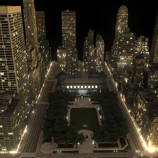 3d new york manhattan district