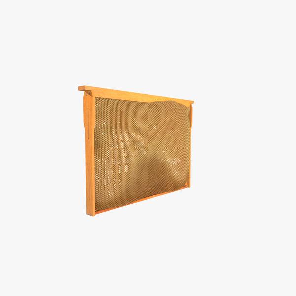 honeycomb honey c4d