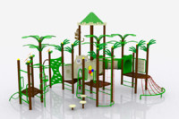 leaf playground 3d model