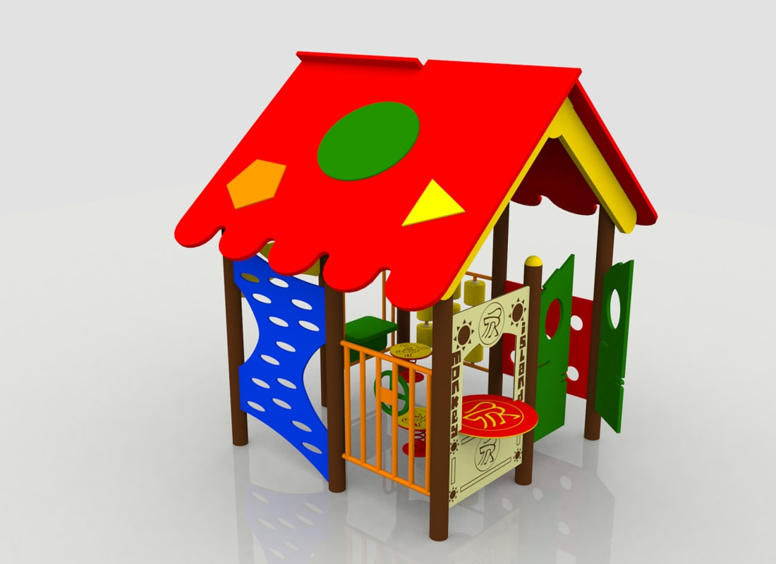 playhouse playground play 3d 3ds