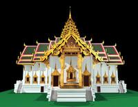 Thailand dusit maha prasat hall