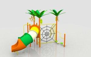 3d model monkey playground