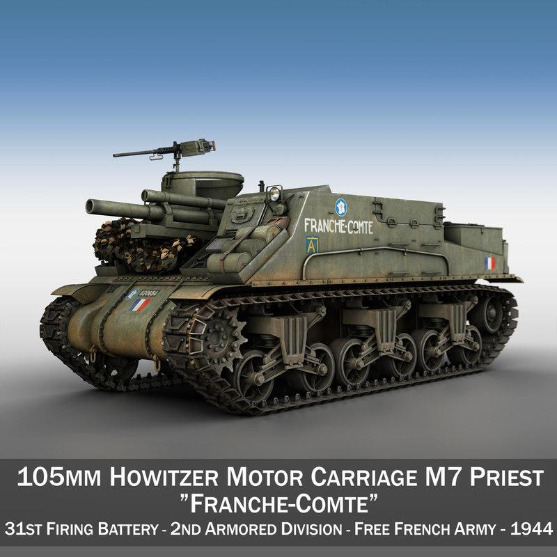 m7 priest - franche-comte 3ds