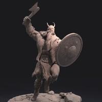 viking zbrush 3d model