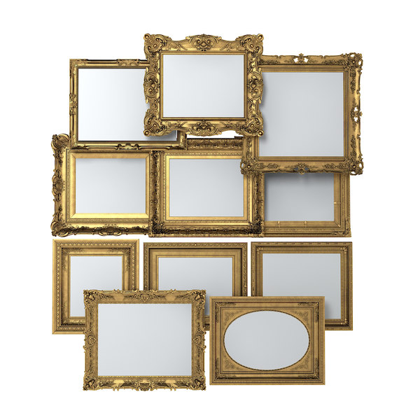 3d picture frame set