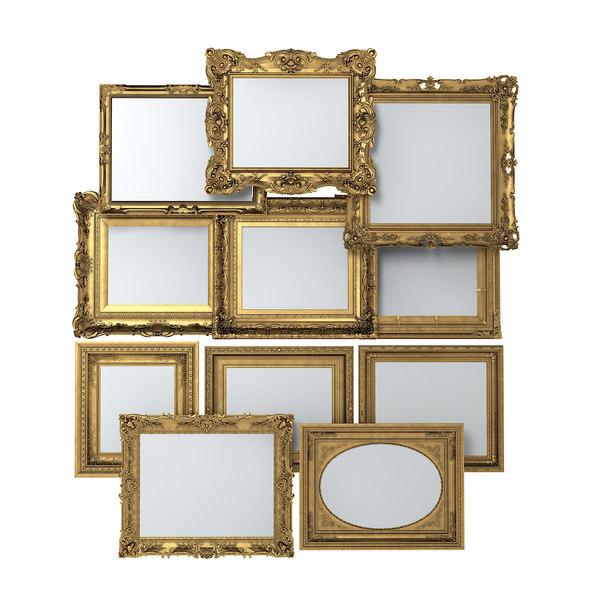 3d picture frame set