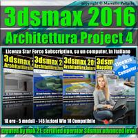 3ds max 2016 Architettura Project 4 Locked Subscription, un Computer.