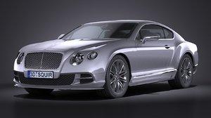 2015 gt bentley 3d model