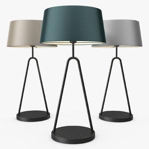 heathfield - coupole table lamp 3d max