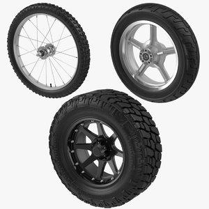 3d tires motorcycle bike truck
