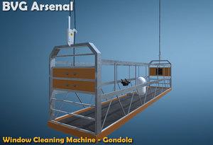 fbx cleaning gondola