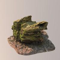 obj scan tree stump