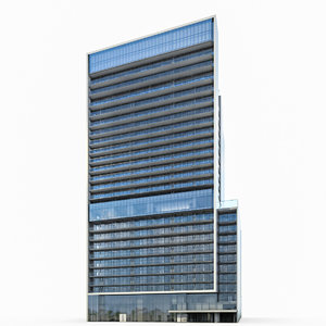 max commercial high-rise building exterior