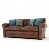 3d wade jefferson scatter sofa