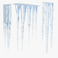 3d model icicles