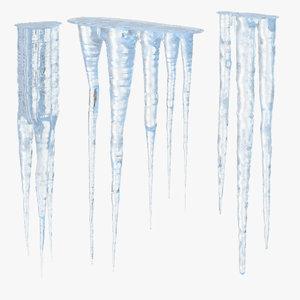 3d model icicles