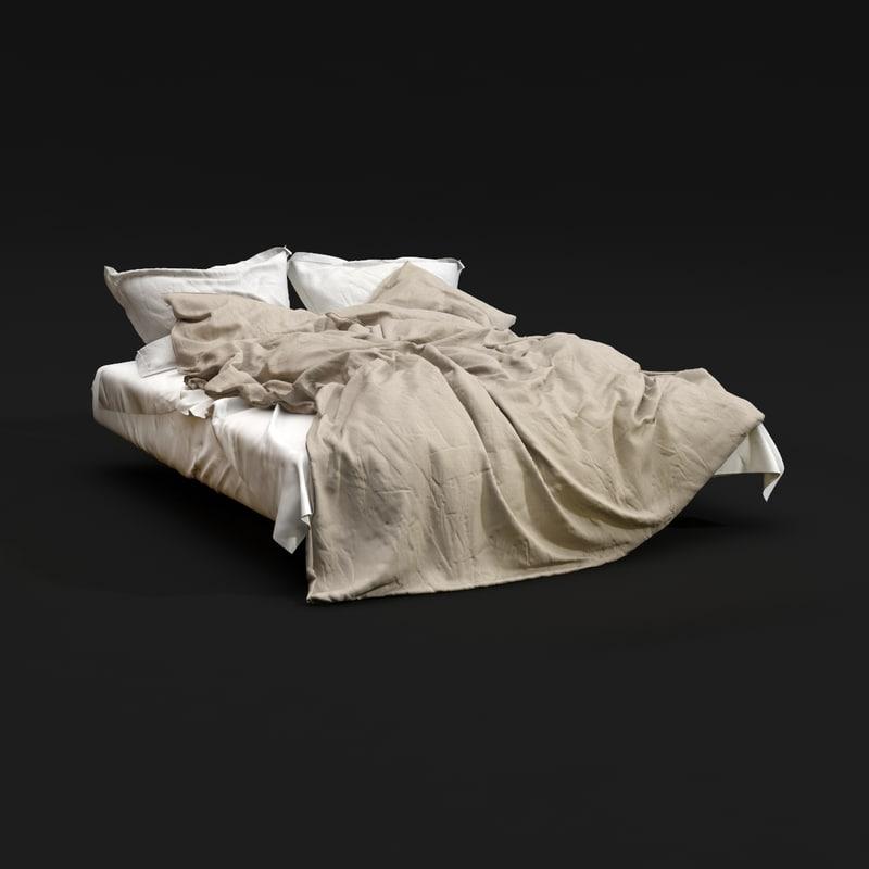 bedclothes 01 3d model