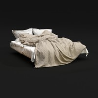 bedclothes 01 3d model