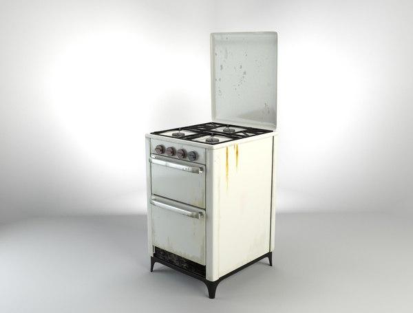 max vintage gas stove