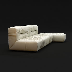 3d bonaldo nuvola sofa