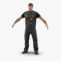 biker man 3d max