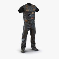3d biker outfit model