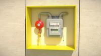 gas box 3d max