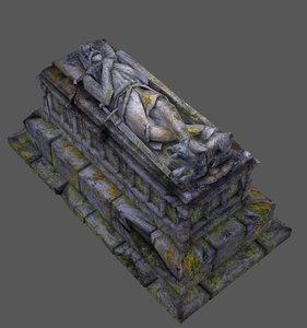 sarcophagus crusader 3d model