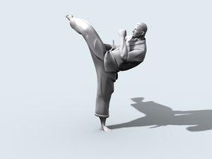 3d karate