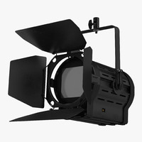 studio fresnel light prism 3d max