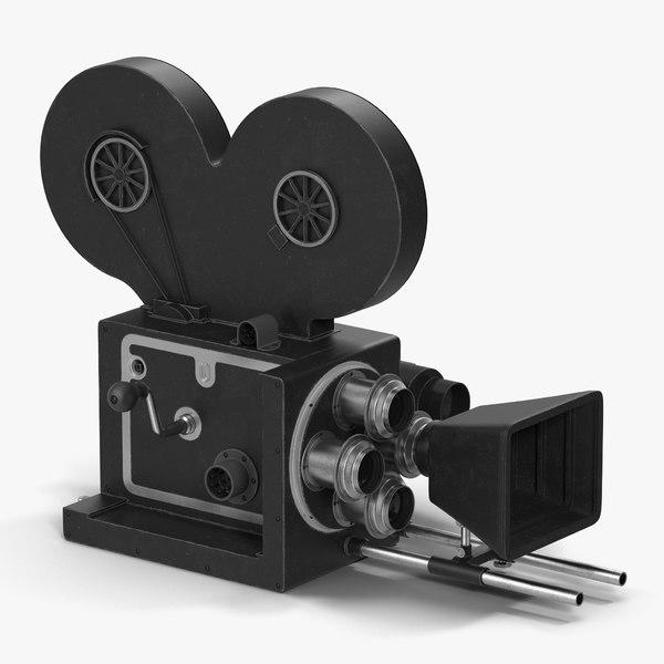vintage video camera 3d max
