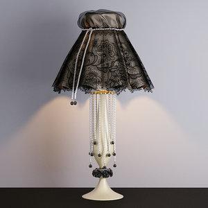 table lamp pataviumart 3d obj