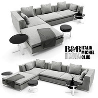 Sofa B&B ITALIA MICHEL