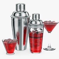 cocktail shaker 3d model