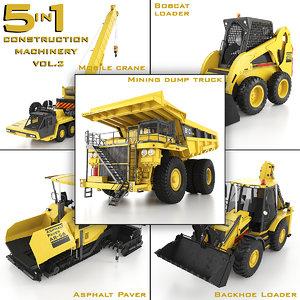 construction machinery 5 1 max