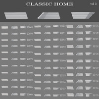 eiling cornices Classic home (vol3)